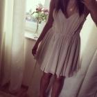 Elegancka sukienka dress ecru
