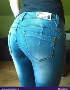 wycierane rurki jeans