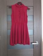 Sukienka z kołnierzykiem HM jak nowa...