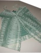 Amelie may tunika mgiełka w zieleni piękna 46 48