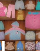 ZESTAW ubrań 17 szt dziewczynka 1 2 latka