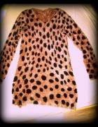 włochata sukienka