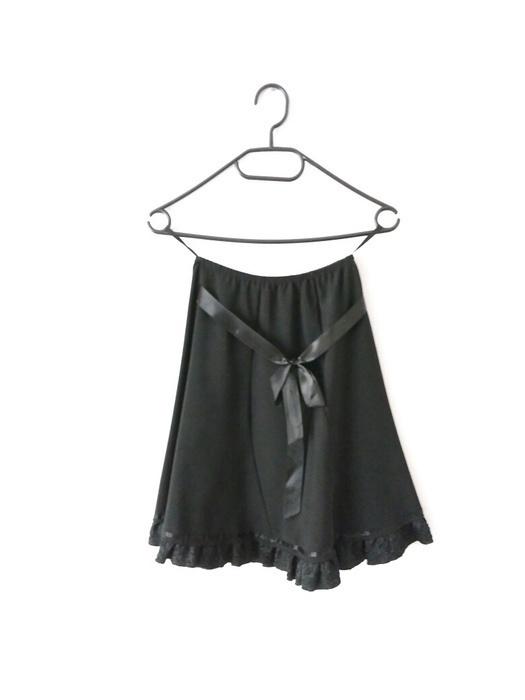 Spódnice Spódnica na gumce rozkloszowana mini midi