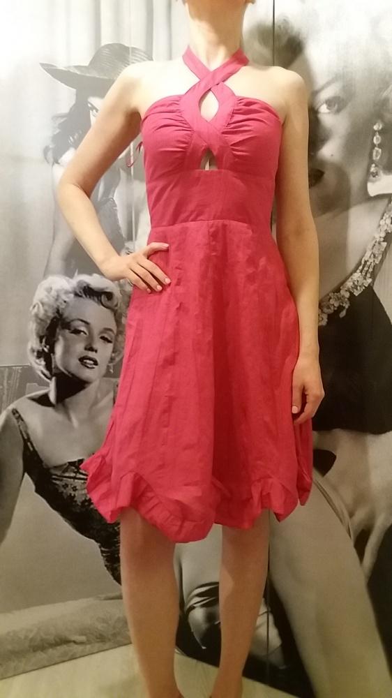 Różowa sukienka 36 na okazje