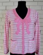 Wiosenny sweterek różowy S