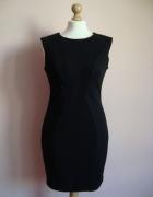 Mała czarna mini obcisła sukienka pianka Jane Norm