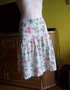 Kwiatowa letnia spódnica 38 40