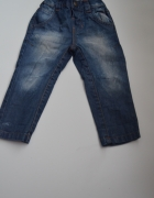 jeansowe rurki 80 cm