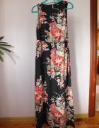 Kwiecista sukienka maxi 36