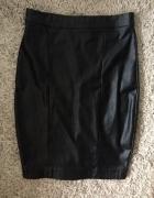 Skórzana ołówkowa spódnica 34 Topshop