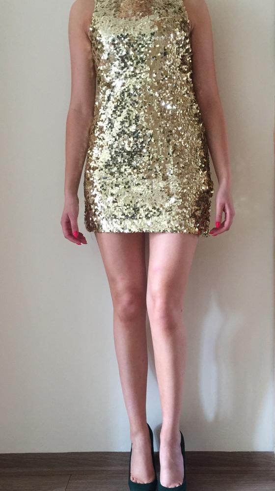 Suknie i sukienki Cekinowa New Look