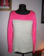 Neonowy sweter cropp