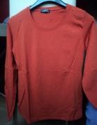 Ruda bluzka na długi rękaw