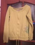 Limonkowa bluza Cropp