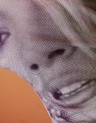 Bluzka z twarzą kobiety