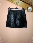 Skórzana spódnica musthave tanio M L...