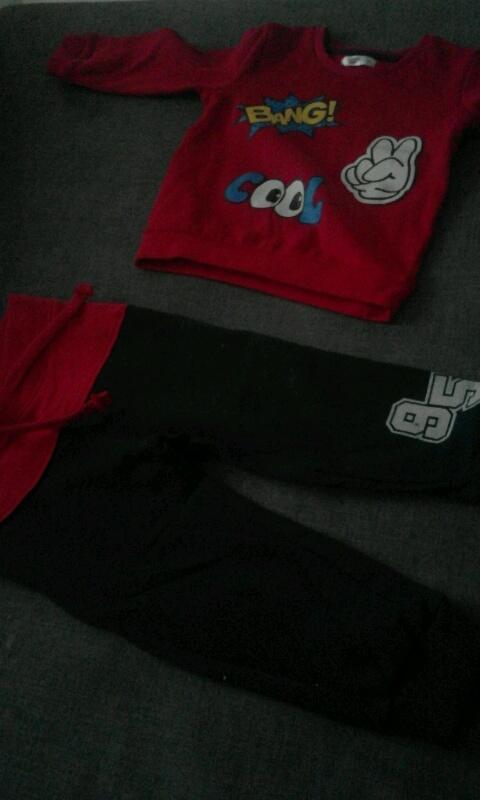 bluza i spodnie dresowe 86