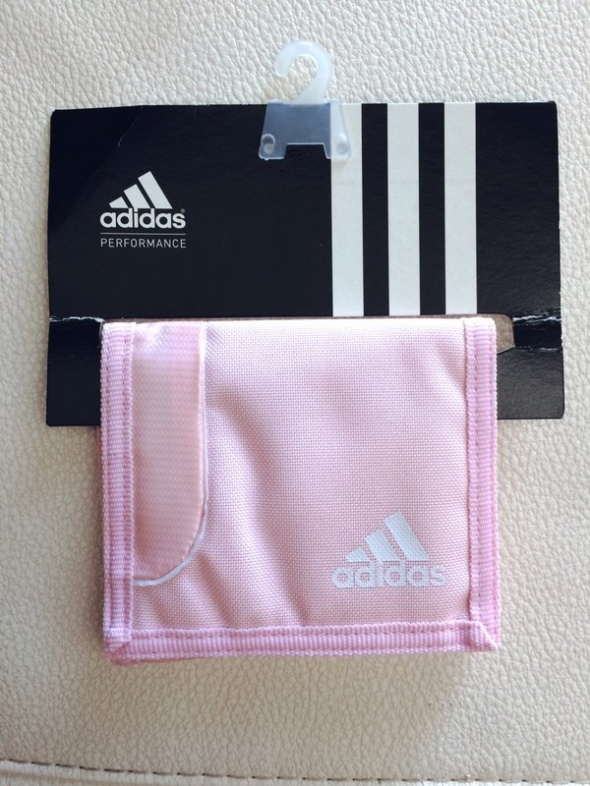 portfel pudrowy róż Adidas NOWY...