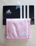 portfel pudrowy róż Adidas NOWY
