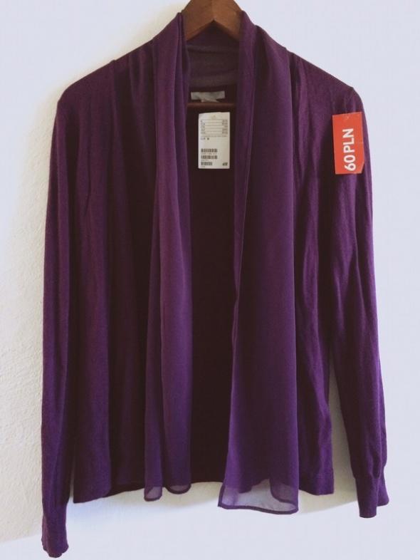 Narzutka sweterek kardigan H&M 38 NOWE