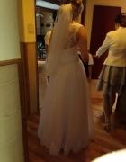 Własnego porojektu suknia ślubna
