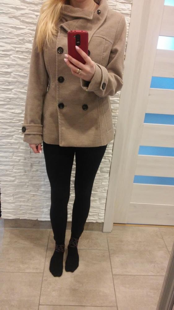 płaszcz h&m...