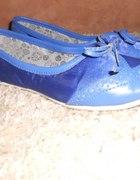 Balerinki niebieskie Cropp