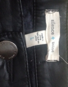 Eko skórzane SilenceNoise spodnie czarne LXL