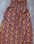 Sexi Maxi sukienka Troll boho hippie S...