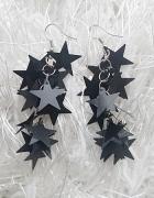 Kolczyki wiszące gwiazdki