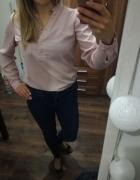 Lososiowa bluzka koszulowa