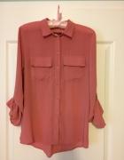 Różowa koszula mgielka