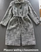 Płaszcz jak nowy kaszmir i wełna 38