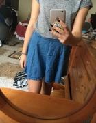 Jeansowa spódniczka Pull&Bear...