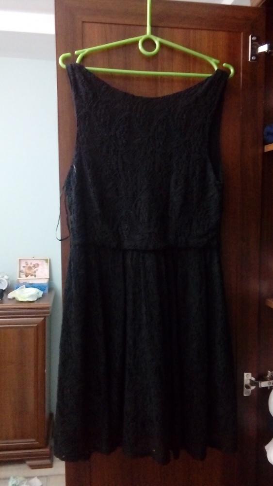 Koronkowa sukienka Depare czarna...