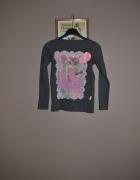Reserved bluzka kotek 134cm 128cm...