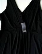 Czarna rozkloszowana sukienka rozm 44 C&A...
