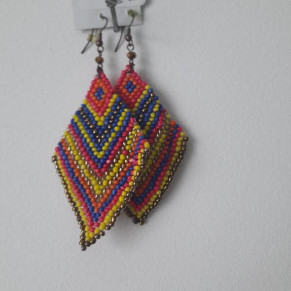 Kolczyki Kolorowe kolczyki z Meksyku