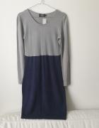 SIMPLE sukienka dzianinowa rozmiar 36