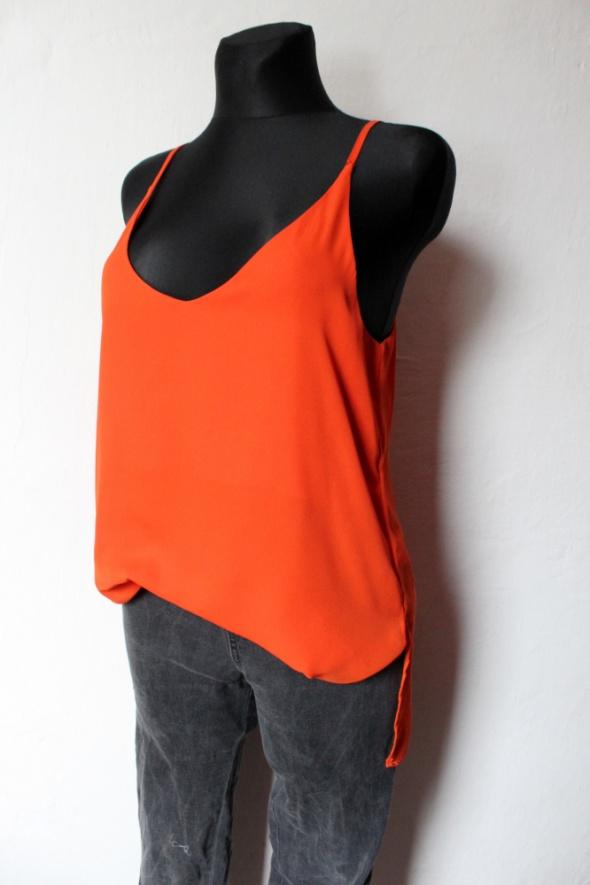 Bluzki Lejąca bluzka na ramiączkach r XL