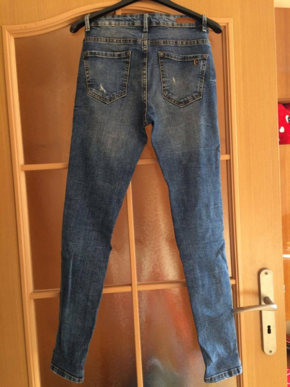 Spodnie Slim Cropp
