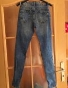 Spodnie Slim Cropp...