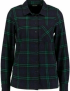koszula zielono fioletowa New Look modna w kratę
