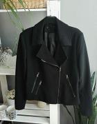 HIT klasyczna czarna ramoneska Black Zara