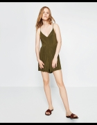 kombinezon krótki zielony Zara