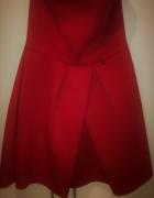 Sukienka studniówkowa piankowa rozkloszowana...