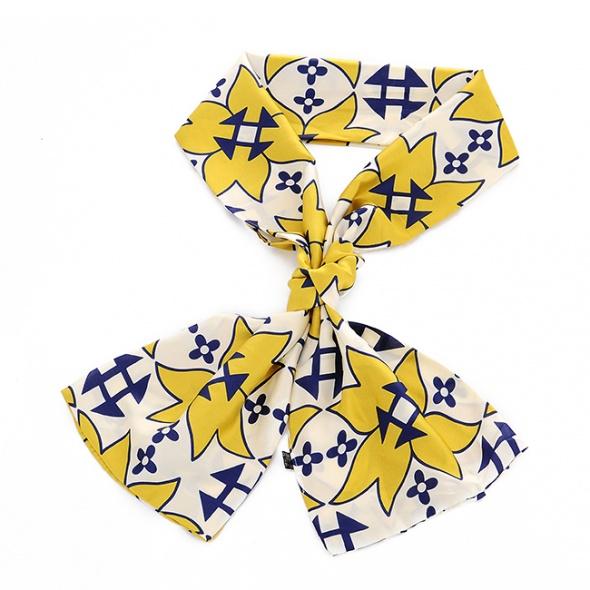 Szaliki i szale Jesienny szaliczek w stylu Hermes