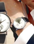 Czarny zegarek męski Prezent