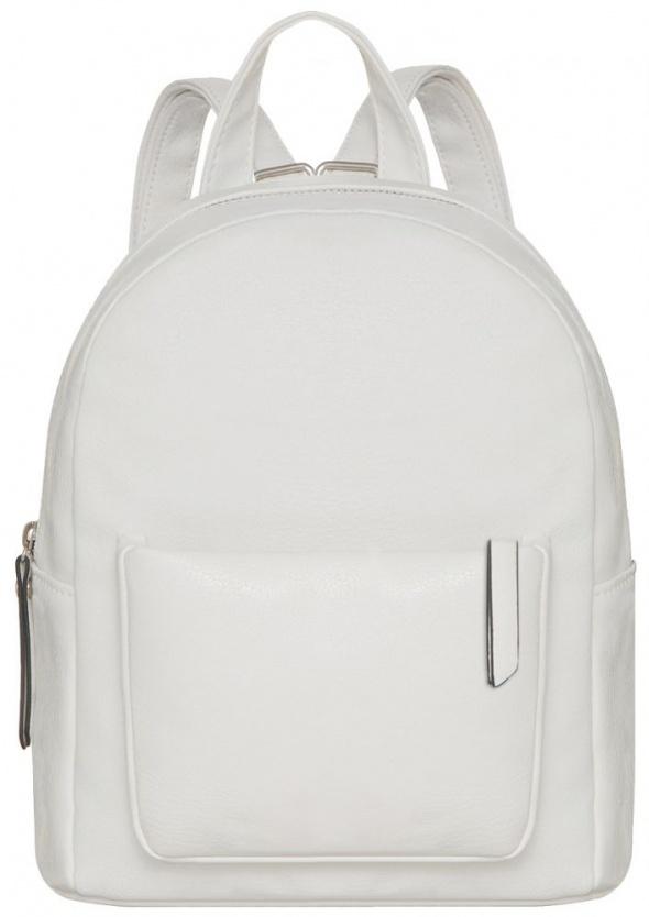 5be813dd996ca Stylowy biały plecak glamour must have w Plecaki - Szafa.pl