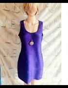 Śliwkowa sukienka z Atmosphere...